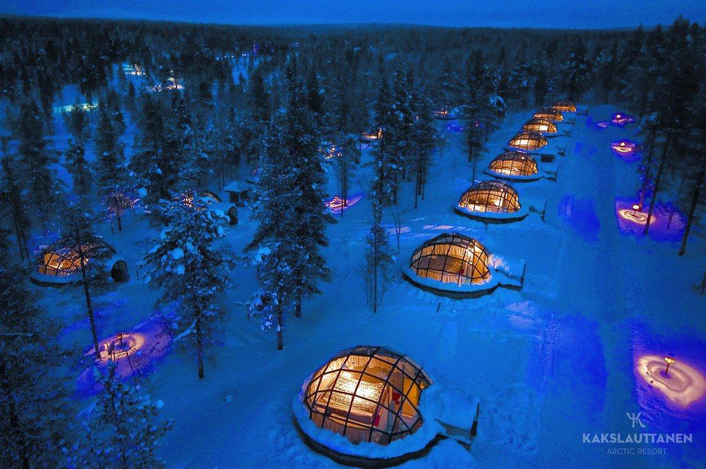 Kakslauttanen Arctic Resort - Finnland