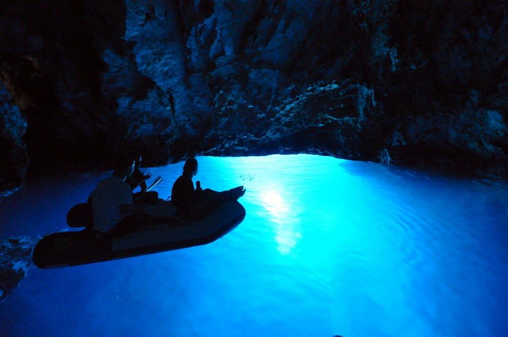 Blue Cave - Kroatien