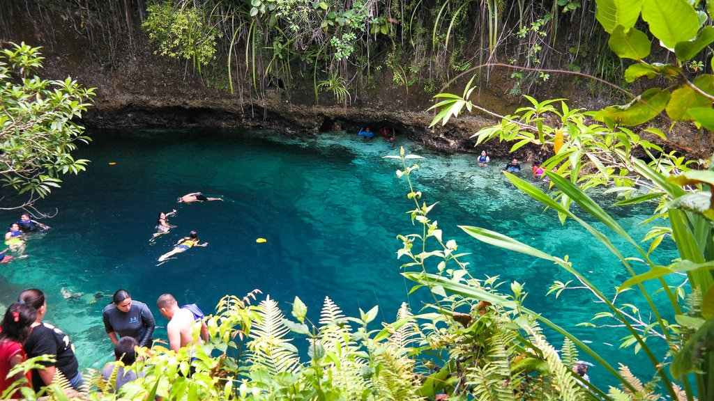 Enchanted River - Philippinen