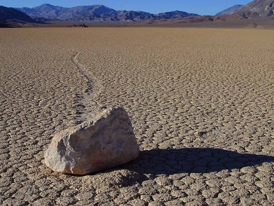 Sailing Stone - Death-Valley-Nationalpark