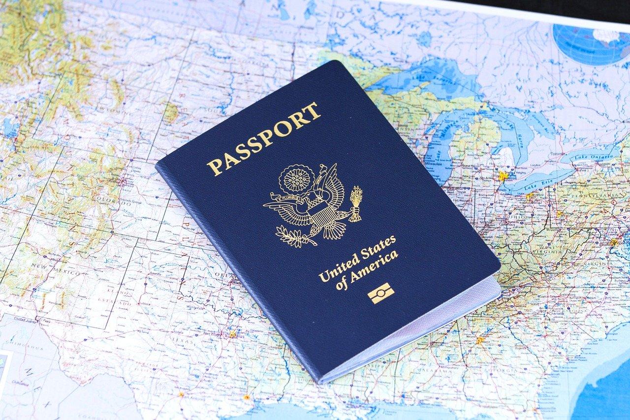 Reisepass, Weltkarte