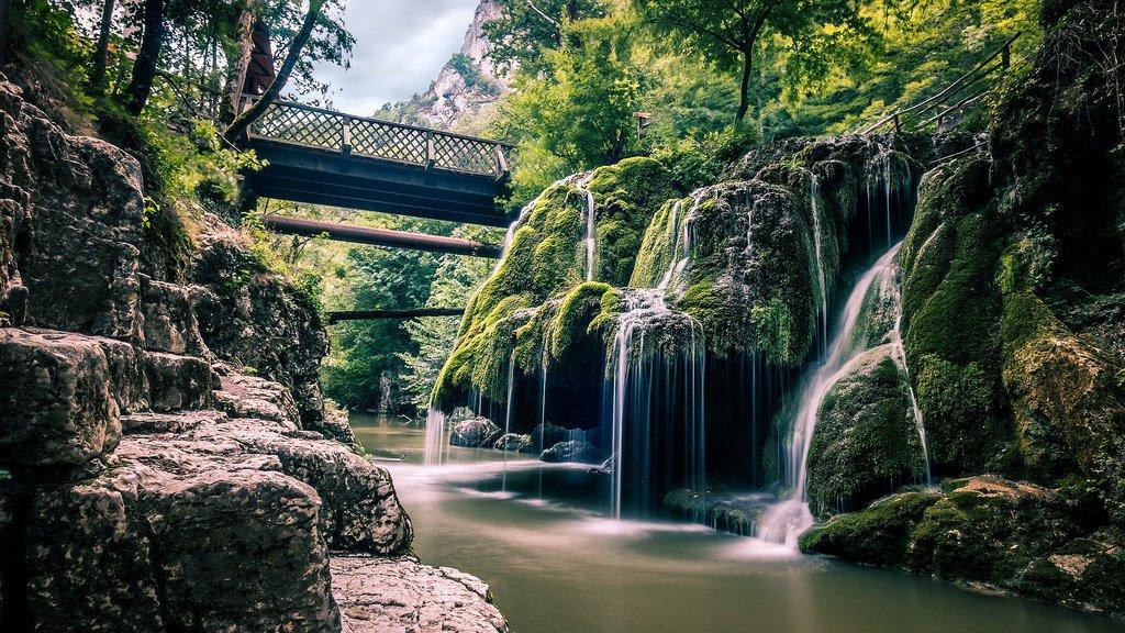 Bigar Waterfall - Rumänien
