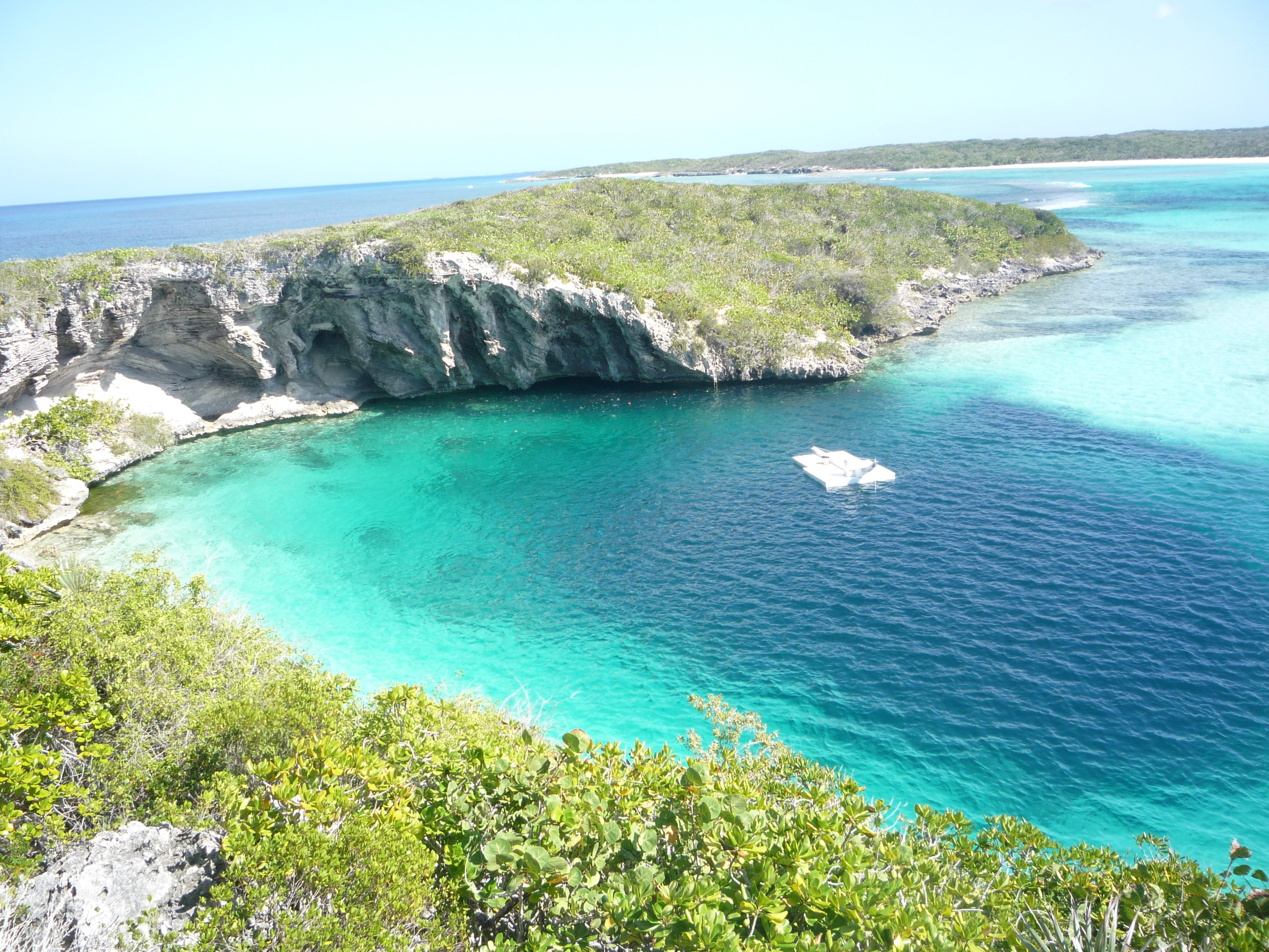 Deans blue hole - Bahamas