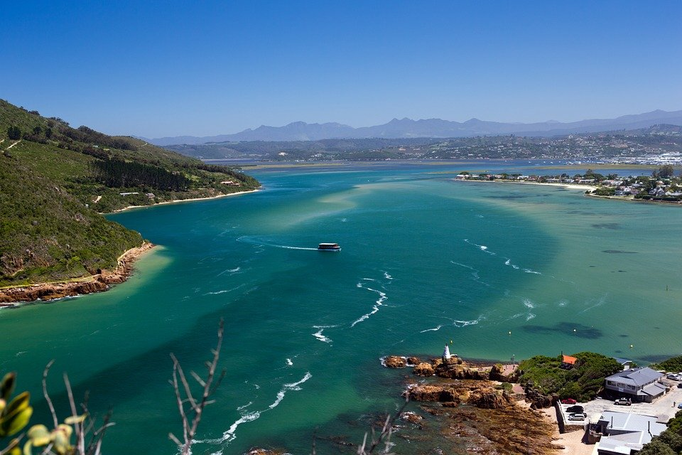 Knysna - Südafrika - Lagune