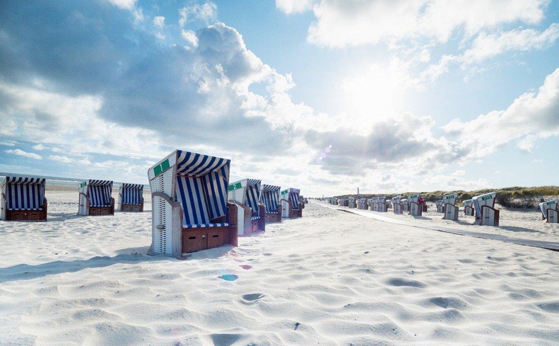 Nordsee, Strandkorb
