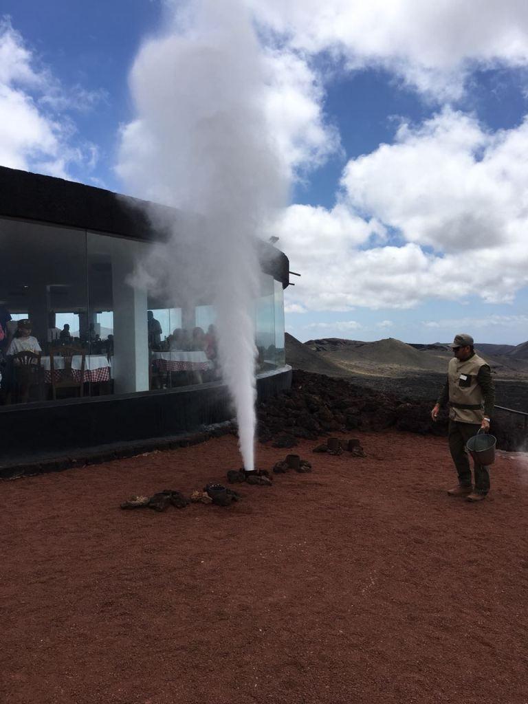 Lanzarote, Verdampftes Wasser, Erdwärme, Vulkangestein