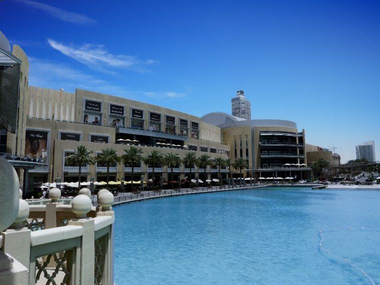 Die Dubai Mall - das größte Shoppingcenter der Welt Bild: Pixabay