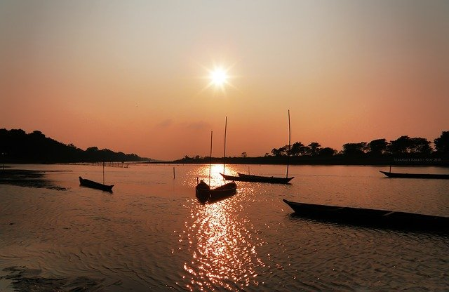 Indien Sonnenuntergang