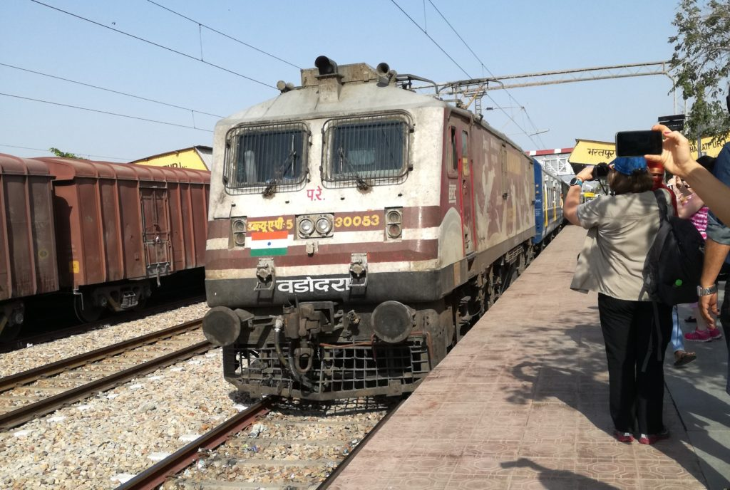 Indische Zugfahrt