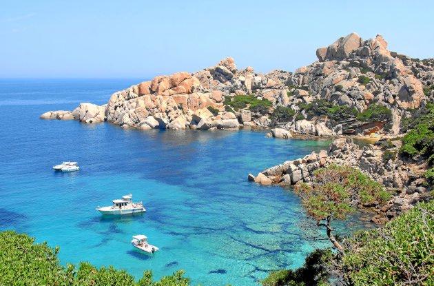 Cala Spinosa auf Sardinien
