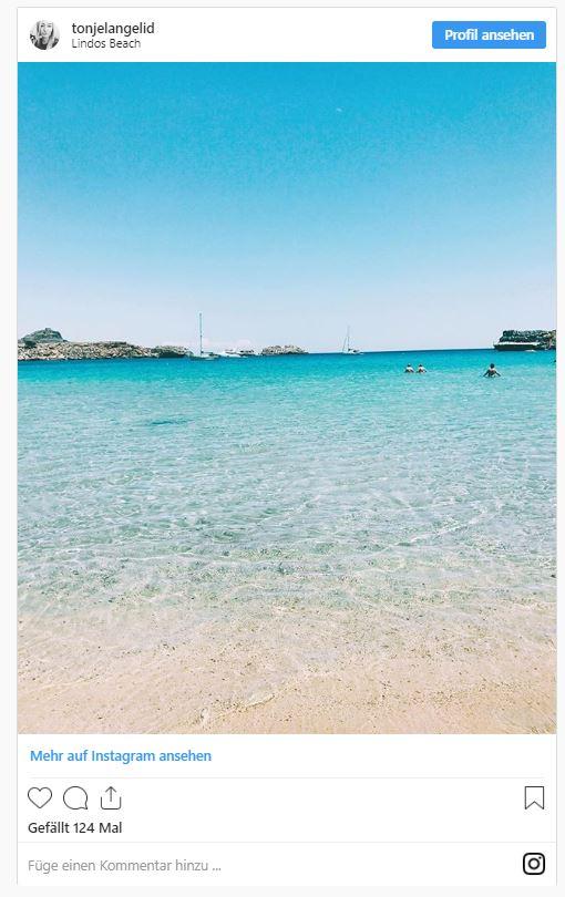 Die Schonsten Strande Und Buchten Auf Rhodos Inspiration Von Nix