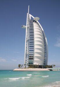Burj al Arab auf Jumeirah Beach