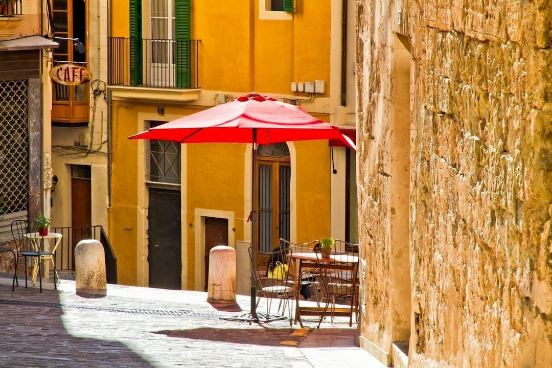 Gasse in Mallorca