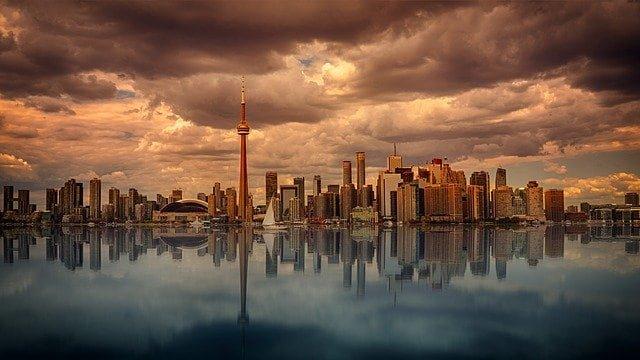 Ziel für Fernreisen Kanada (Toronto)