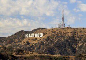 Das berühmte Hollywood Sign in Los Angeles