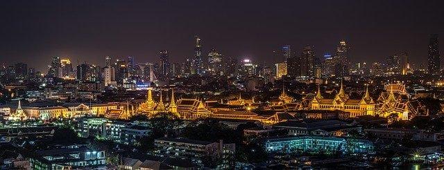 Ein Blick über Bangkok
