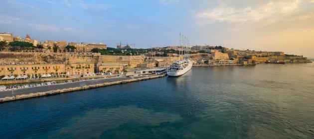 Hafen auf Malta