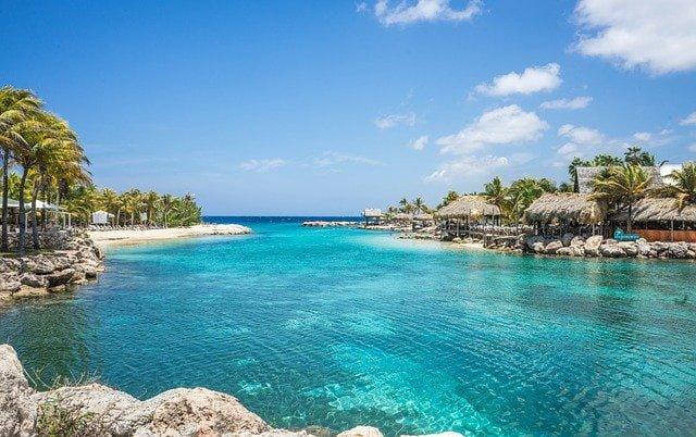 Lagune in Curacao