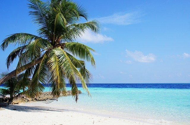 Meerblick auf Malediven