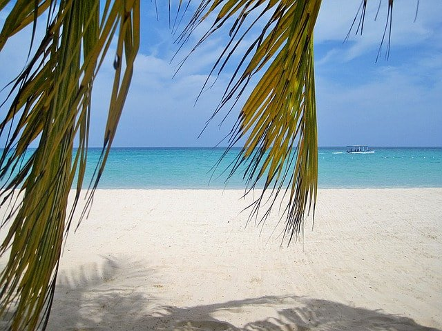 Sandstrand auf Jamaika