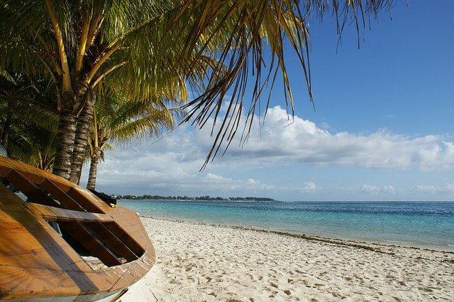 Strandparadis in Mauritius