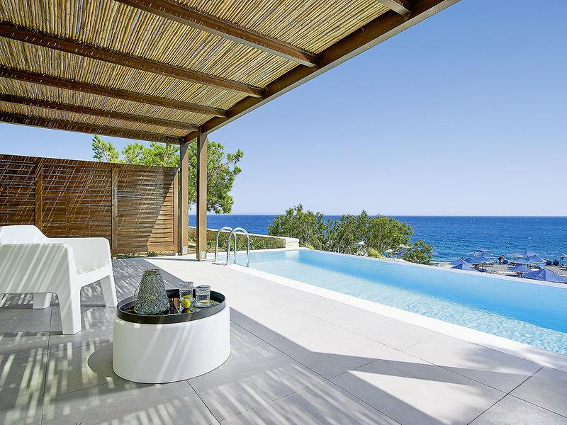 wunderschöner Ausblick auf den griechischen Inseln