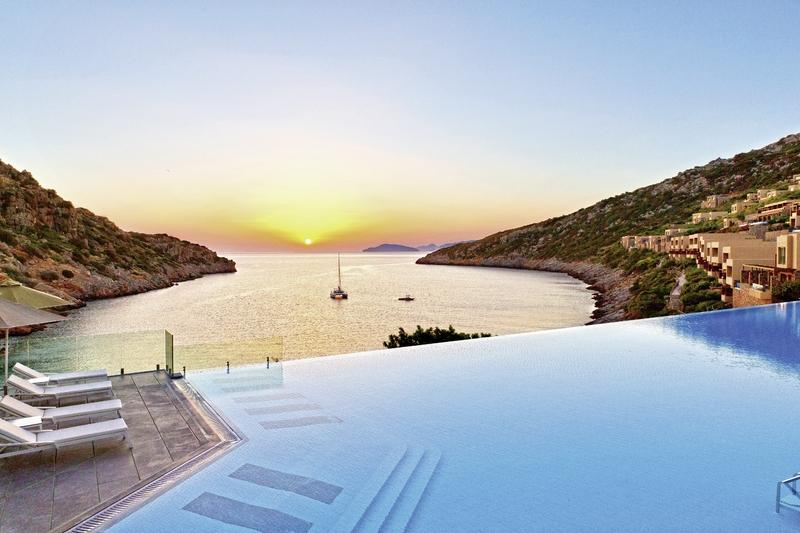 Sonnenuntergang auf den griechischen Inseln