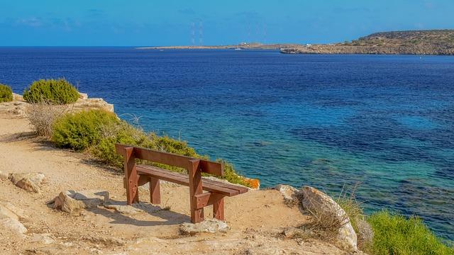 atemberaubende Aussicht auf Zypern