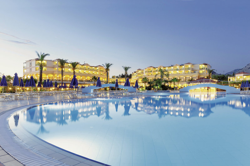 Pool-2-Lindos-Princess-Beach-Hotel Rhodos
