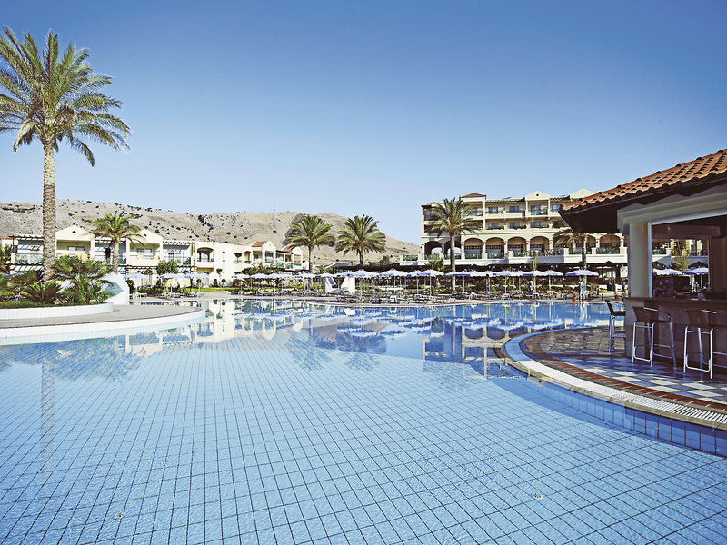 Pool-Lindos-Princess-Beach-Hotel Rhodos