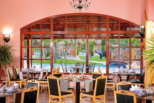 6 Spitzenrestaurants erwarten Euch im Jungle Aqua Park Hurghada