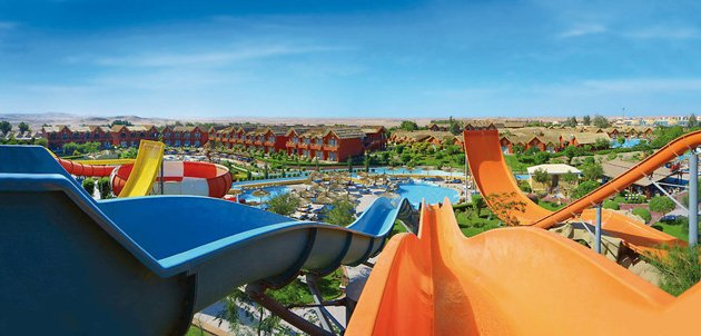 Das Rutschenparadies - Jungle Aqua Park Resort Hurghada