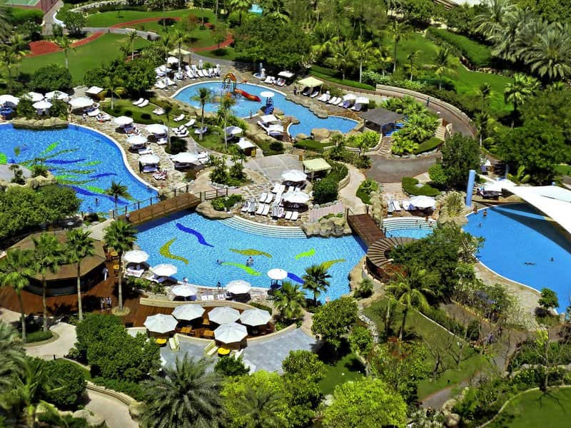 Pools-Grand-Hyatt-Dubai