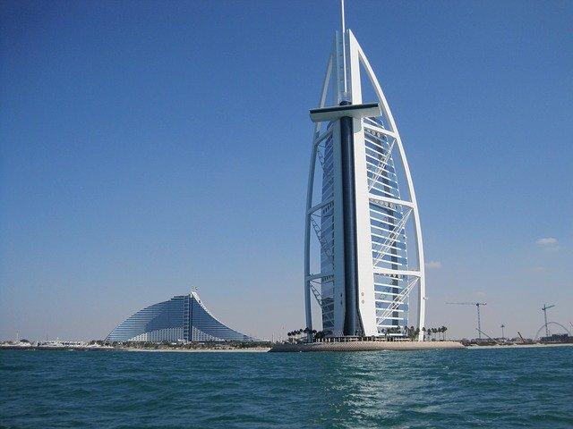Burj Al Arab -Hinten