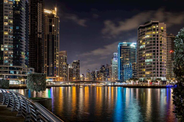 Dubai Sehenswürdigkeiten - Blick auf Dubai Marina