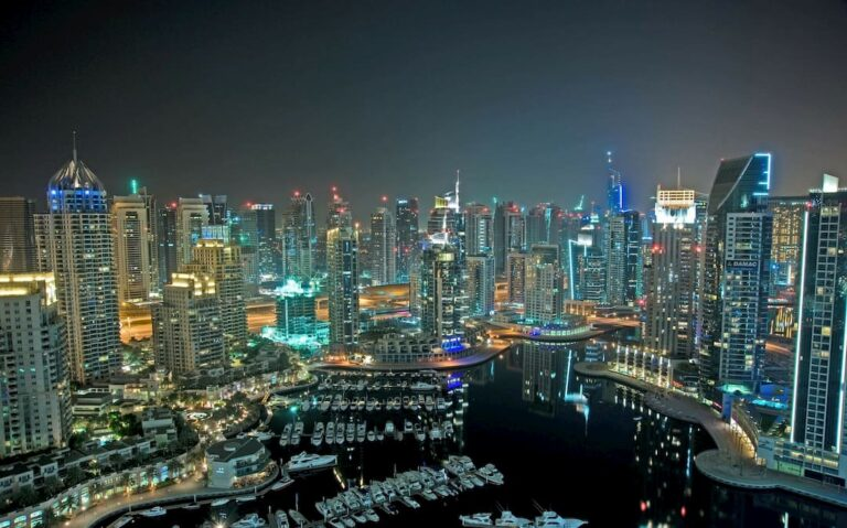 Dubai Marina - Skyline