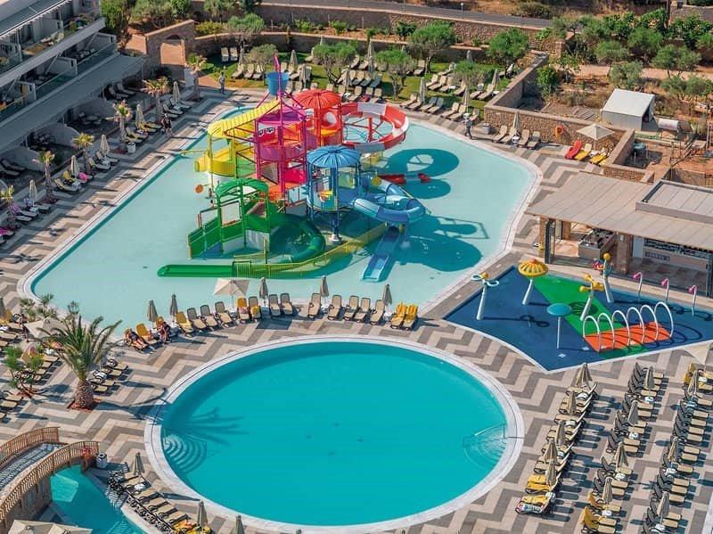 Hoteltipps Kreta Familienhotel Lyttos Beach Wasserpark