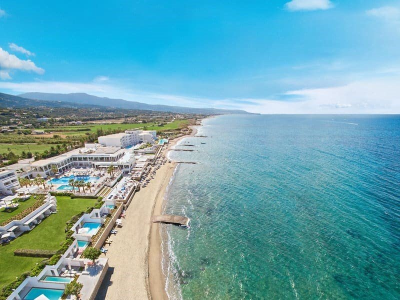 Hoteltipps Kreta Hotels mit Pool Grecotel LUX ME White Palace Strand mit Meer