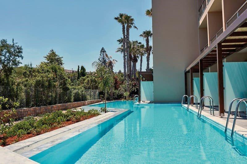 Hoteltipps Kreta Hotels mit Pool Hotel Sentido Unique Blue Resort Poolanlage