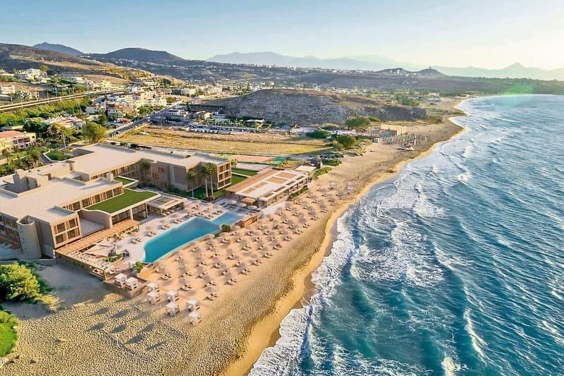 Hoteltipps Kreta Hotels mit Pool Hotel Sentido Unique Blue Resort Strand mit Meer