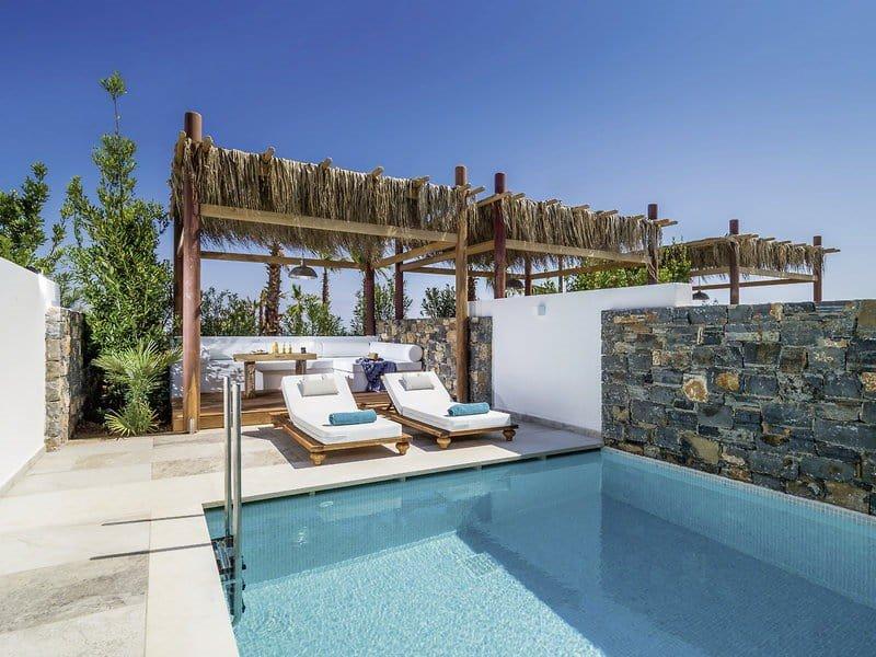 Hoteltipps Kreta Hotels mit Pool Stella Island Luxury Resort Poolanlage