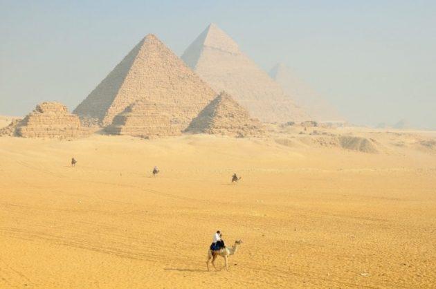Flugzeit Frankfurt nach Ägypten